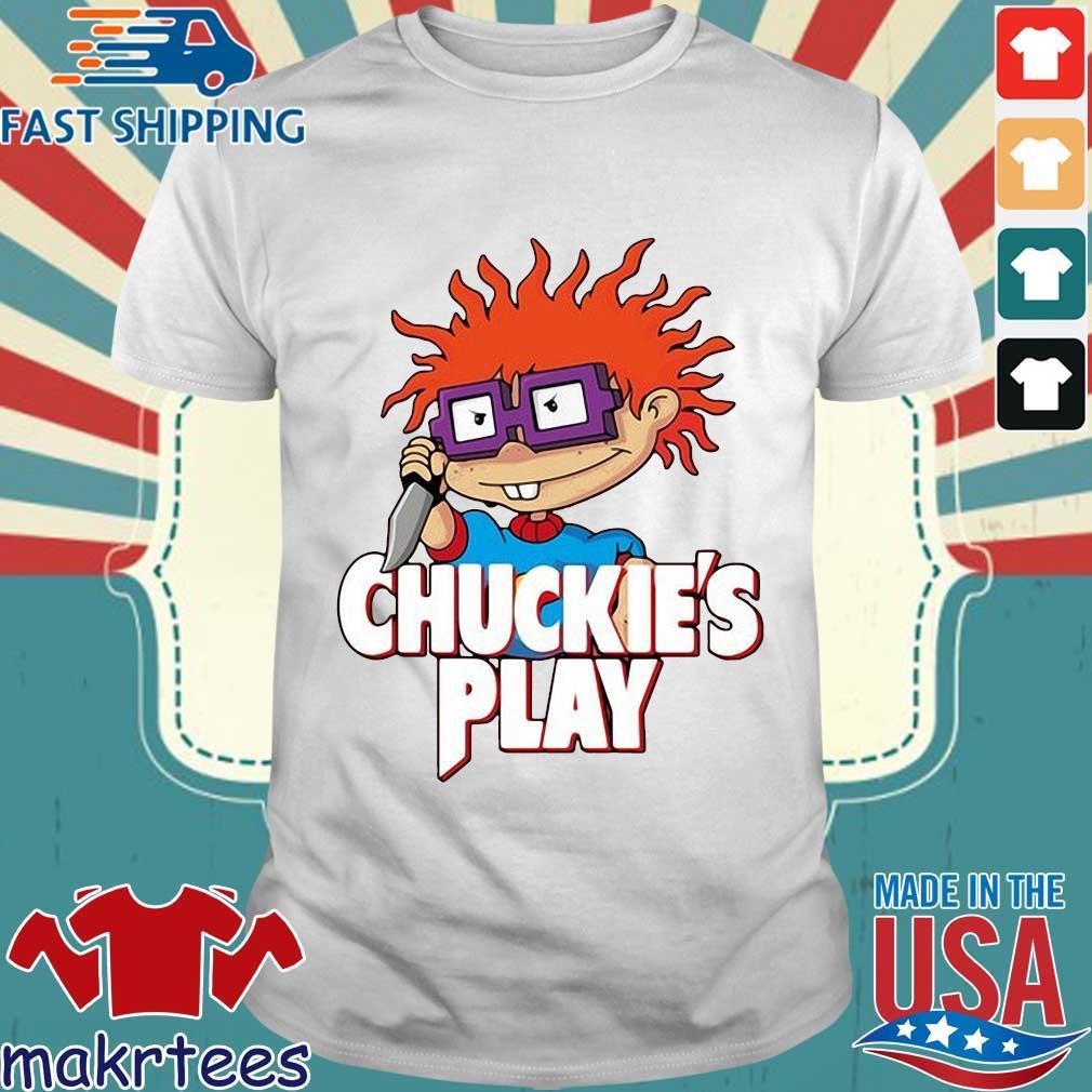Rugrats Chuckie's play Halloween shirt
