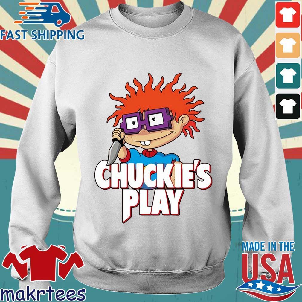 Rugrats Chuckie's play Halloween s Sweater trang