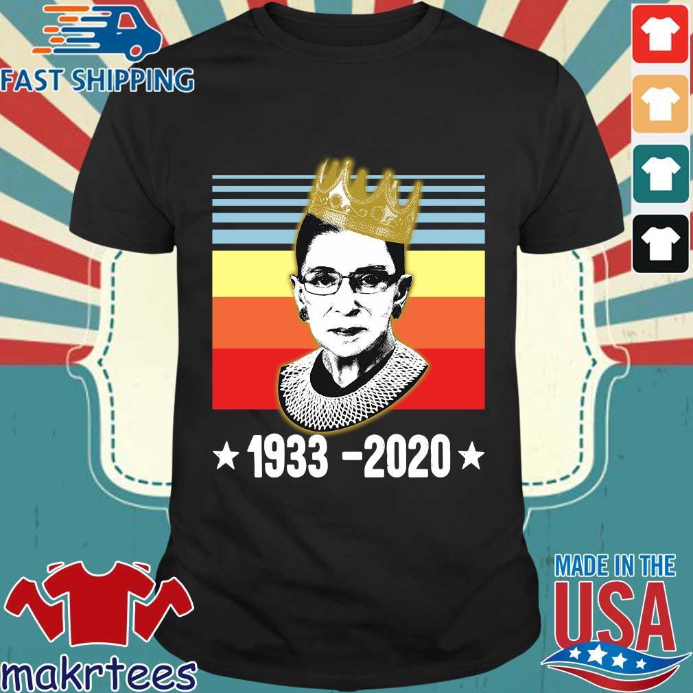 Ruth Bader Ginsburg 1933 2020 crown vintage shirt