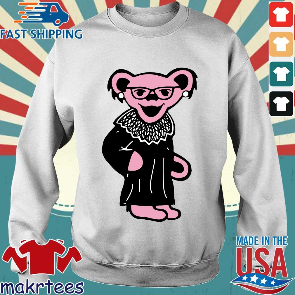 Ruth Bader Ginsburg Grateful Dead Bear RBG s Sweater trang