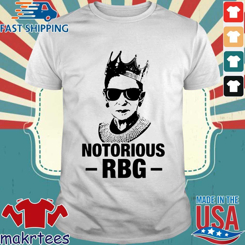 Ruth Bader Ginsburg notorious RBG tee shirt