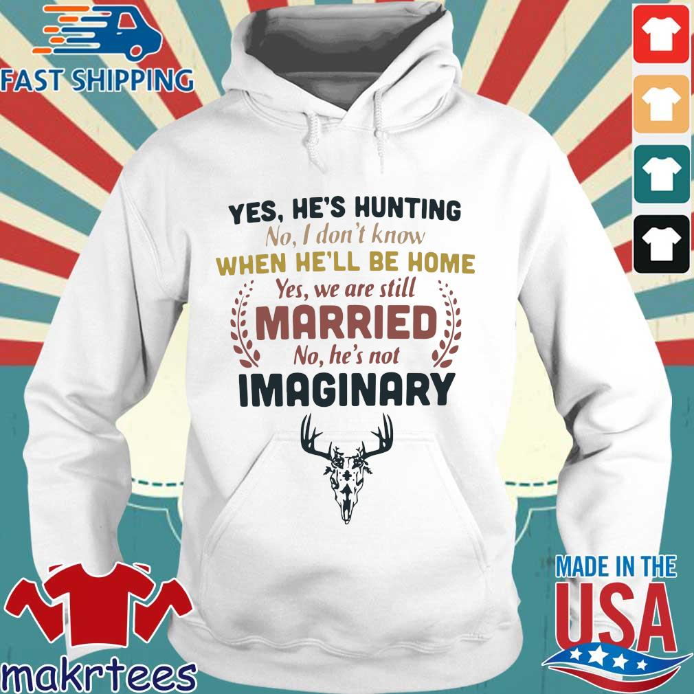 Yes he's hunting no I don't know when he'll be home yes we are still married no he's not imaginary s Hoodie trang