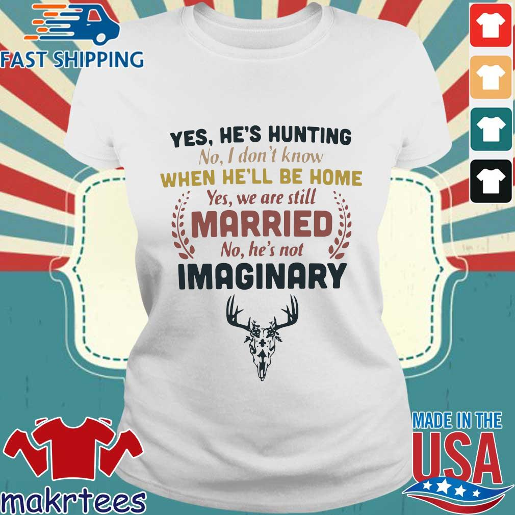 Yes he's hunting no I don't know when he'll be home yes we are still married no he's not imaginary s Ladies trang