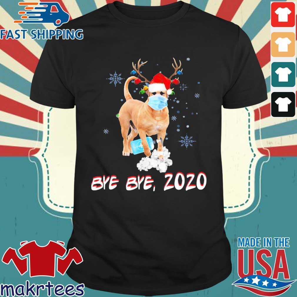 Bullmastiff Dog Bye Bye 2020 Christmas New Year Sweater