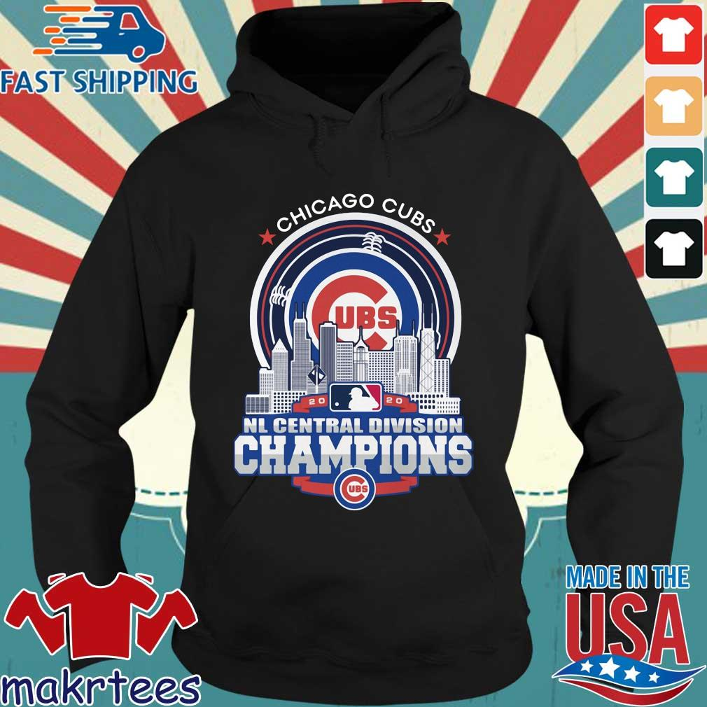 Chicago Cubs 2020 NL central division champions s Hoodie den