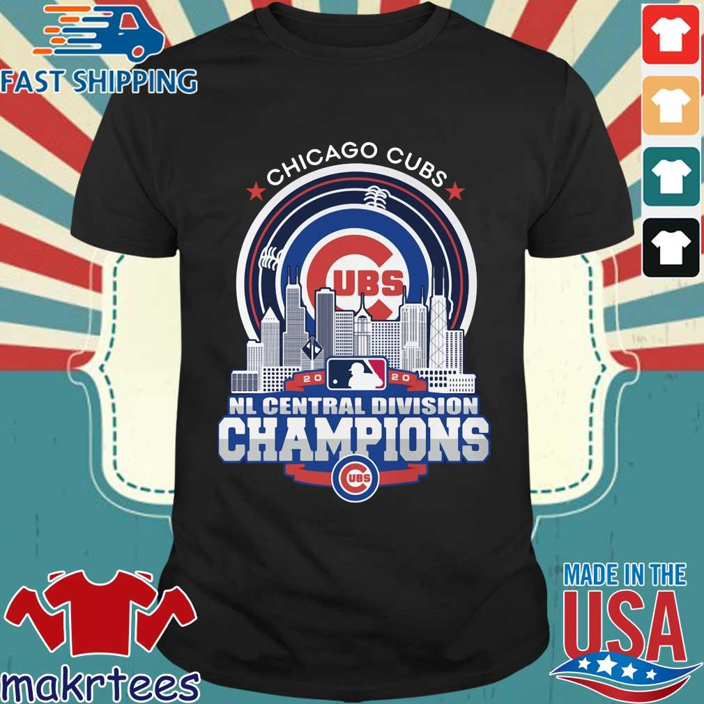 Chicago Cubs 2020 NL central division champions shirt
