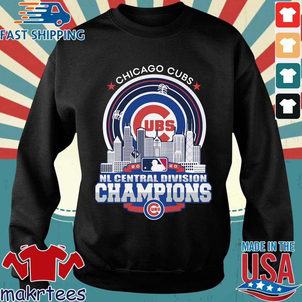 Chicago Cubs 2020 NL central division champions s Sweater den