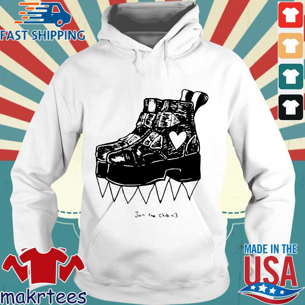 Deathstud Boots Join The Club Shirt Hoodie trang