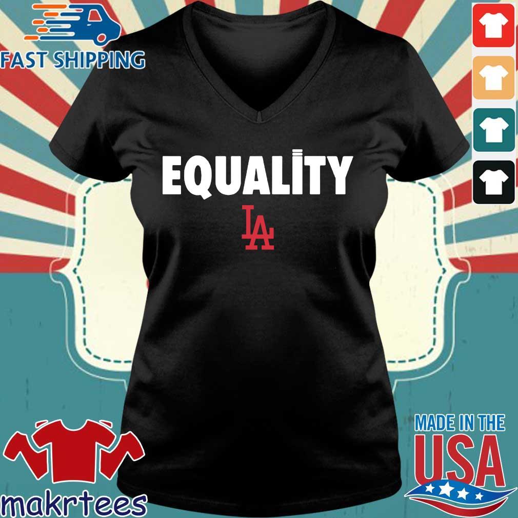 Equality Los Angeles Dodgers 2020 T-Shirt Ladies V-neck den