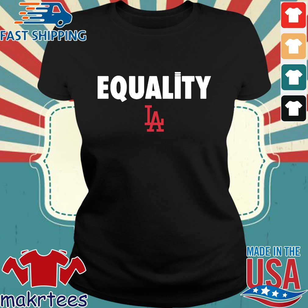 Equality Los Angeles Dodgers 2020 T-Shirt Ladies den