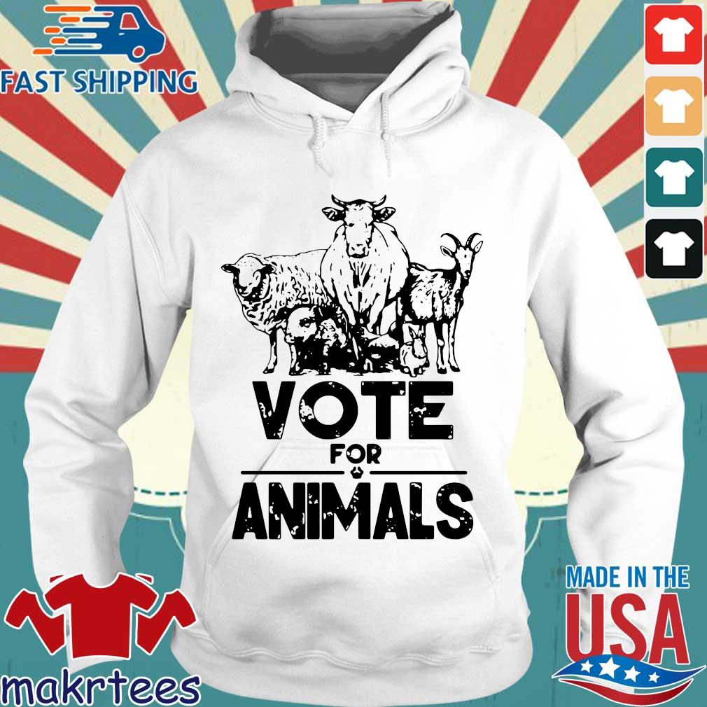 Vote for animals 2020 President s Hoodie trang