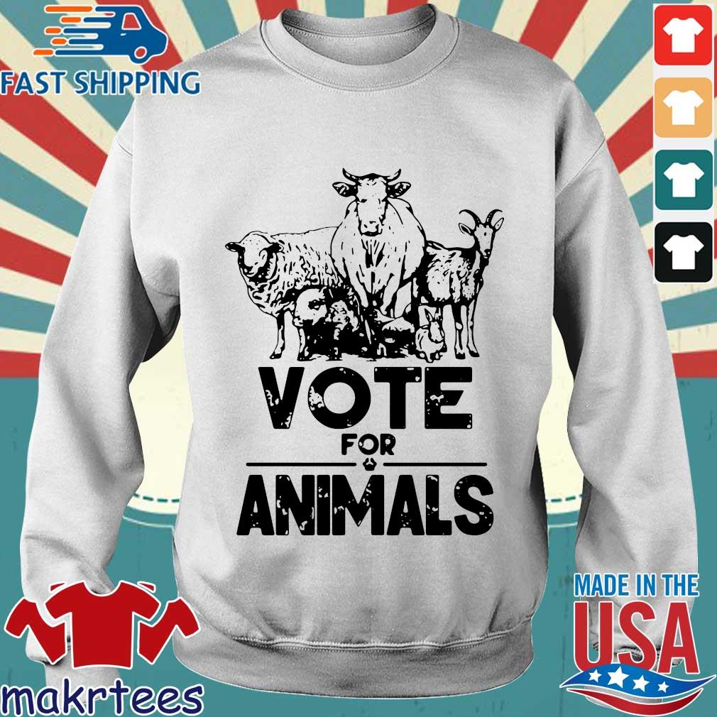 Vote for animals 2020 President s Sweater trang