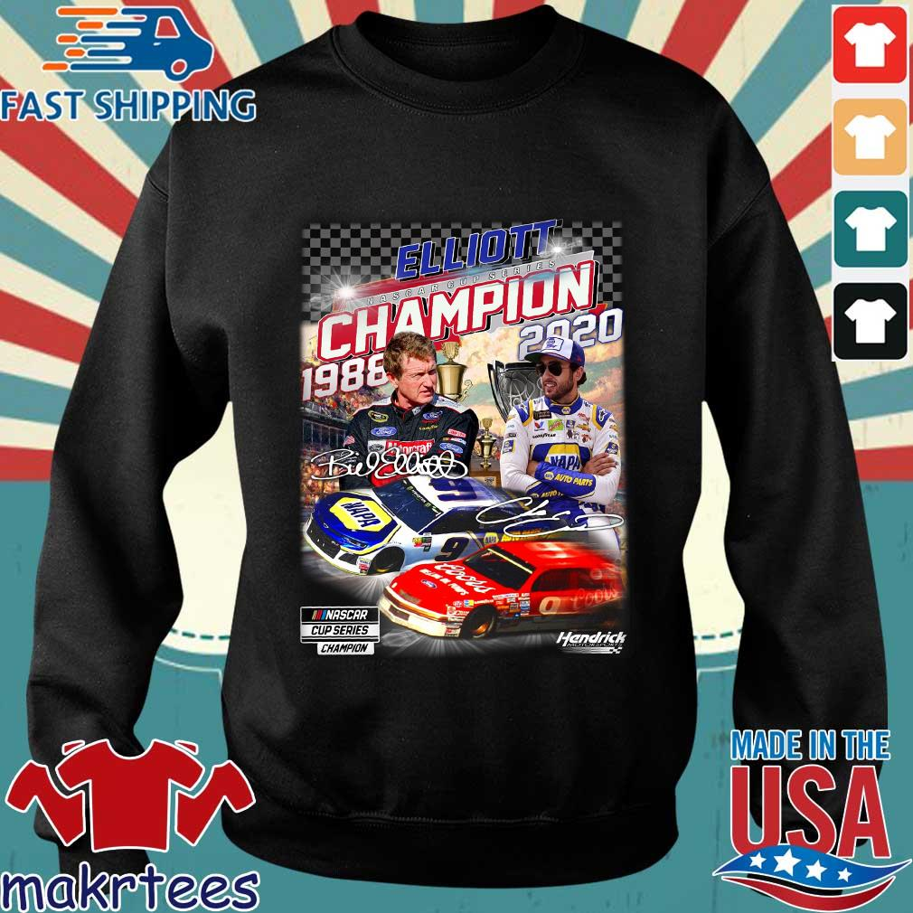 Elliott Nascar Cup Series Champion 1988-2020 Signatures Shirt