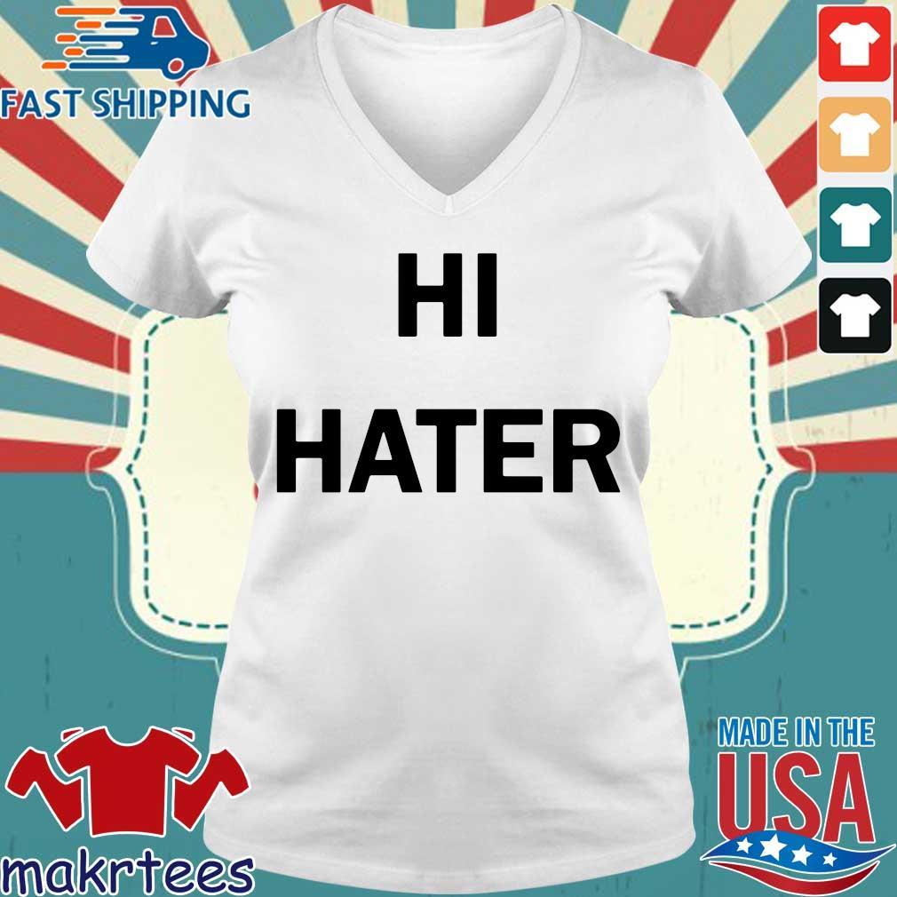 Hi Hater 2020 tee s Ladies V-neck trang