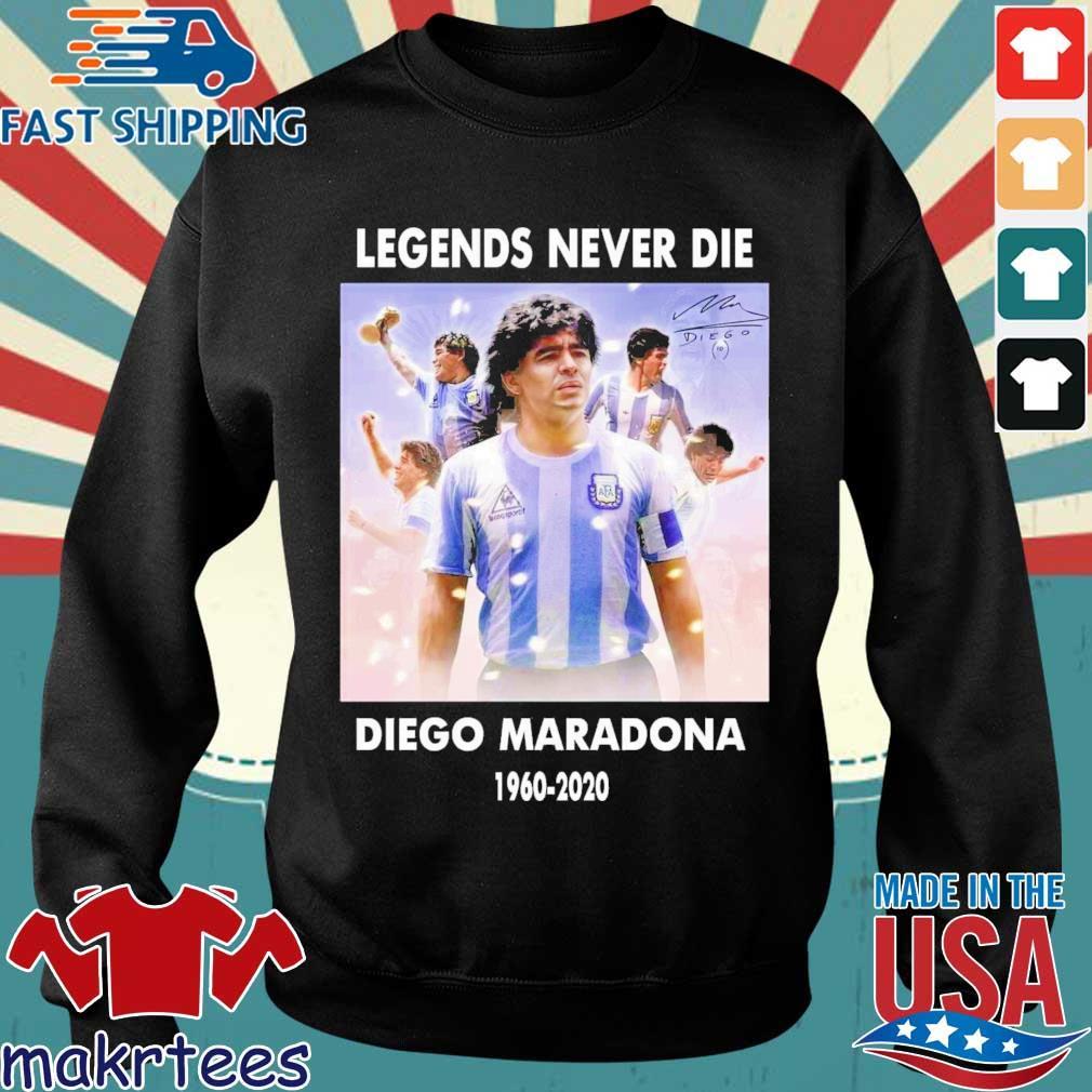 Legends never die Diego Maradona signature 1960-2020 shirt