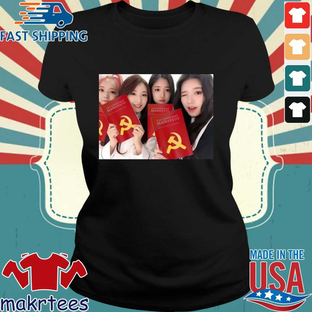 Loona The Communist Manifesto Shirt Ladies den
