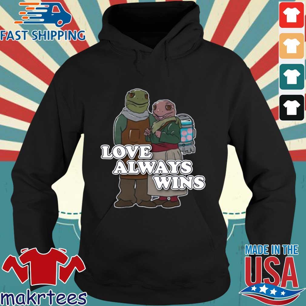 Love always wins s Hoodie den