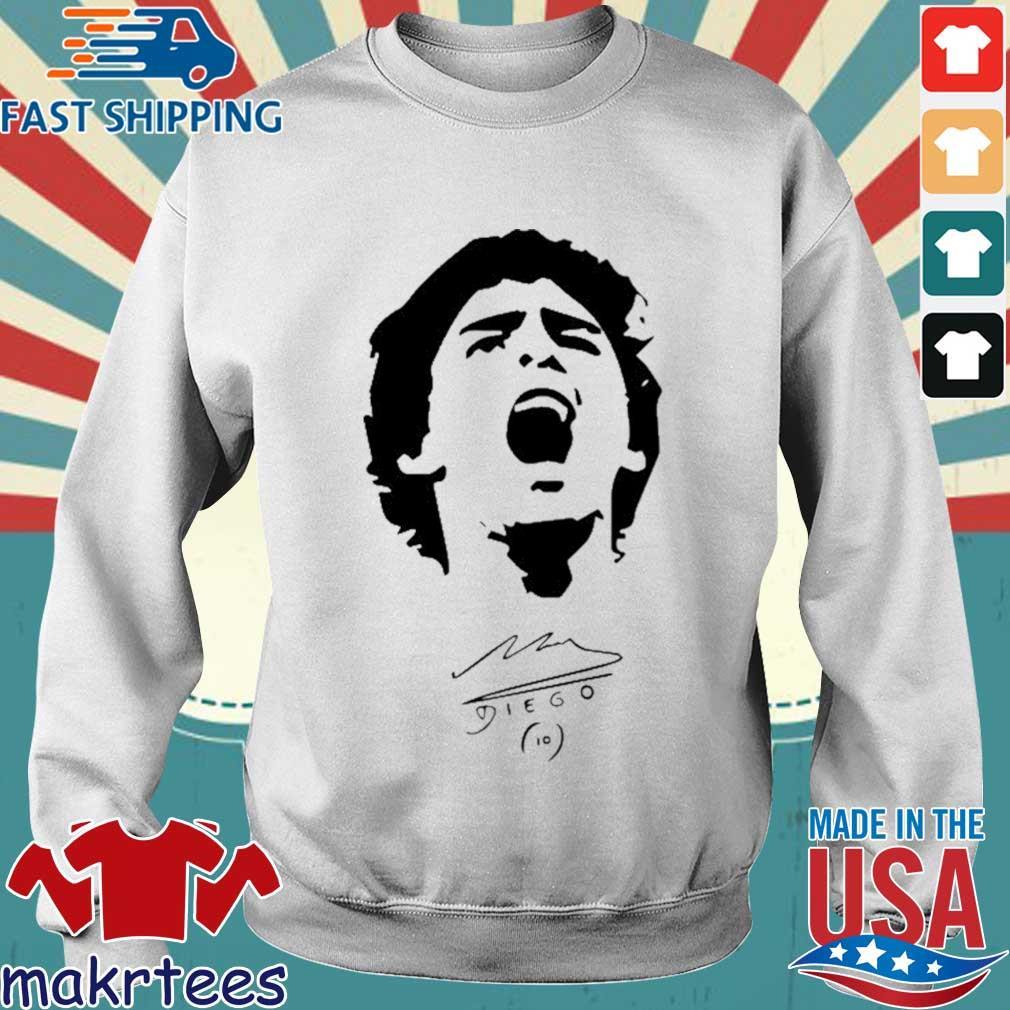 Rip Legend Diego Maradona Signature Shirt