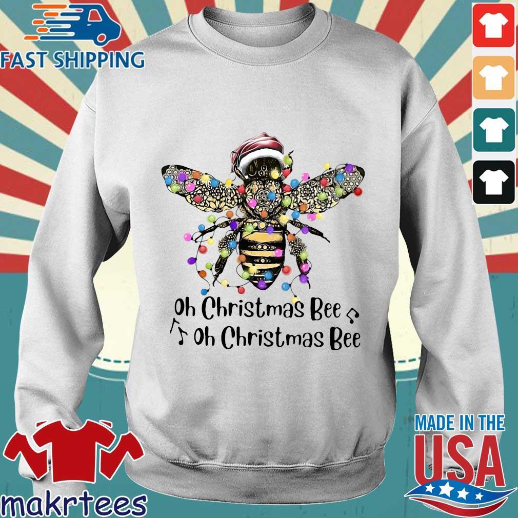 Santa Bee oh Christmas Bee oh Christmas Bee sweatshirt