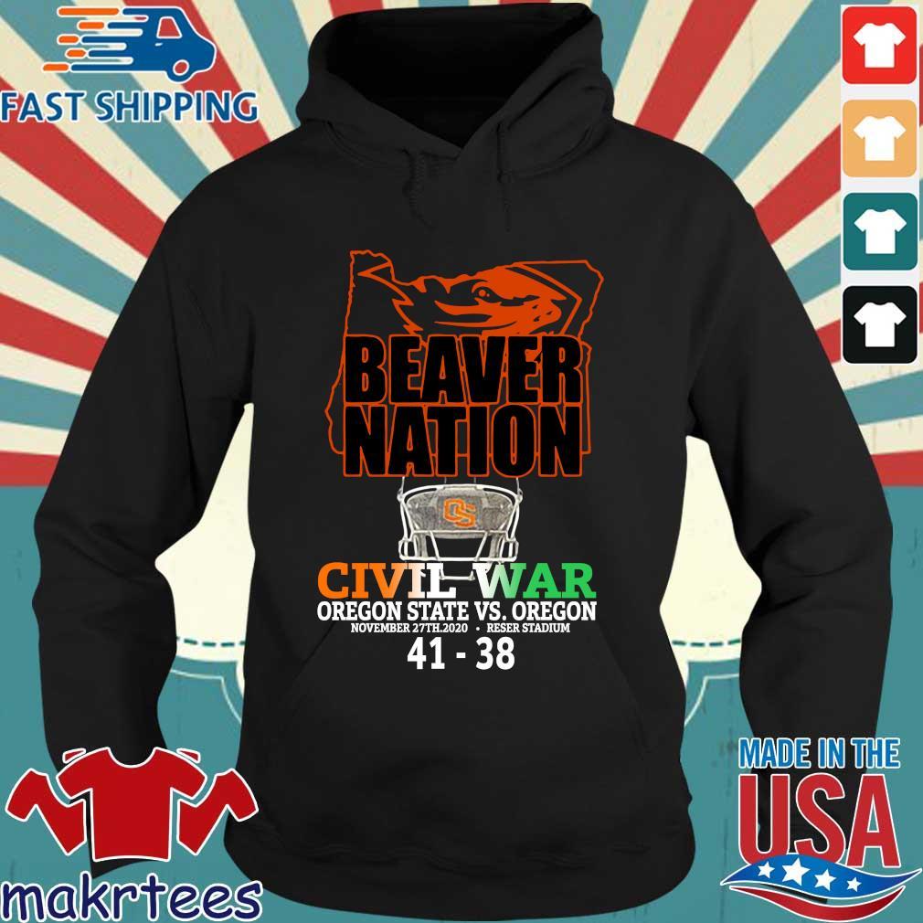 Beaver nation civil war Oregon State vs Oregon 4138 s Hoodie den