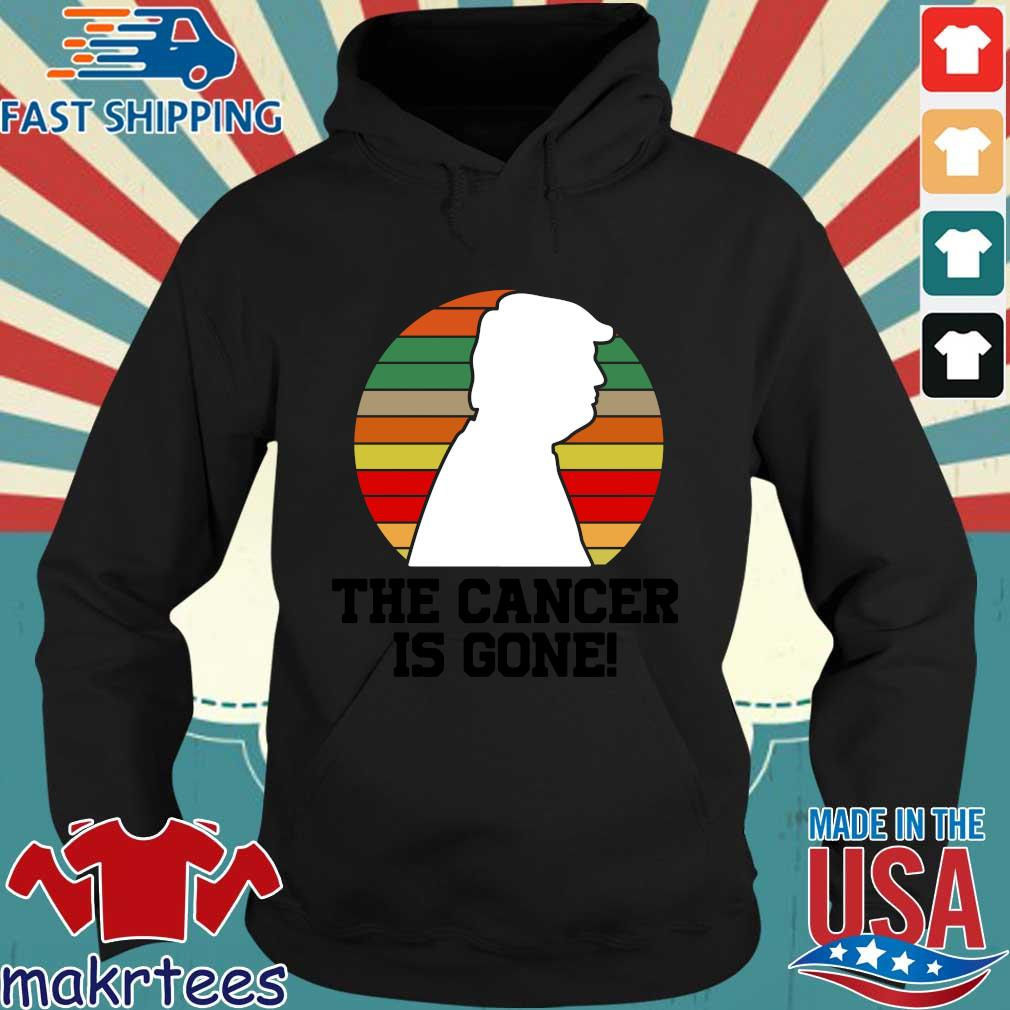 Donald Trump the cancer is gone vintage sweater, s Hoodie den