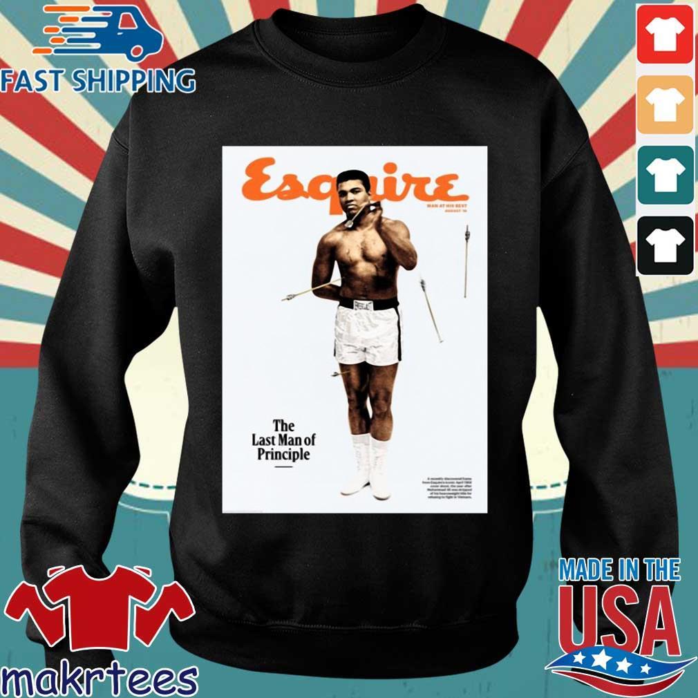 Lebron James Muhammad Ali Esquire The Last Man Of Principle Shirt