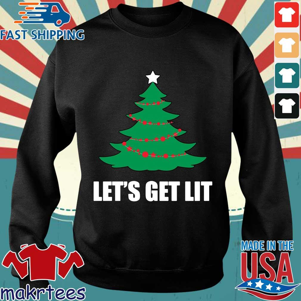 Let's get lit Christmas tree sweater