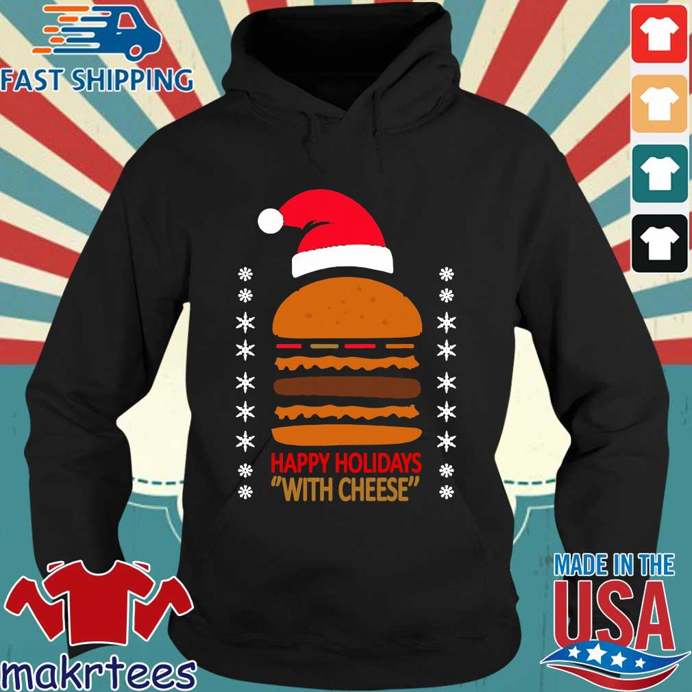 Samuel Jackson Happy Holidays With Cheese Sweater Hoodie den