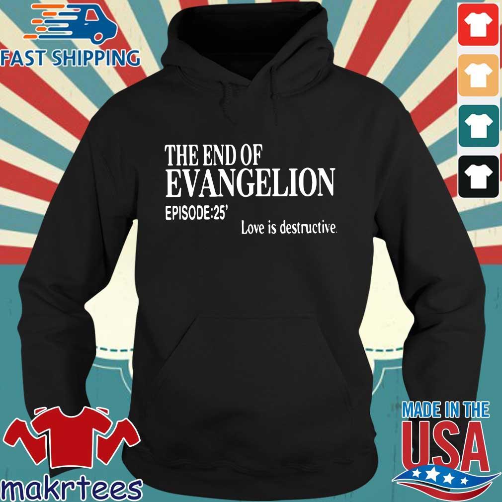 The end of evangelion love is destructive episode 25 s Hoodie den