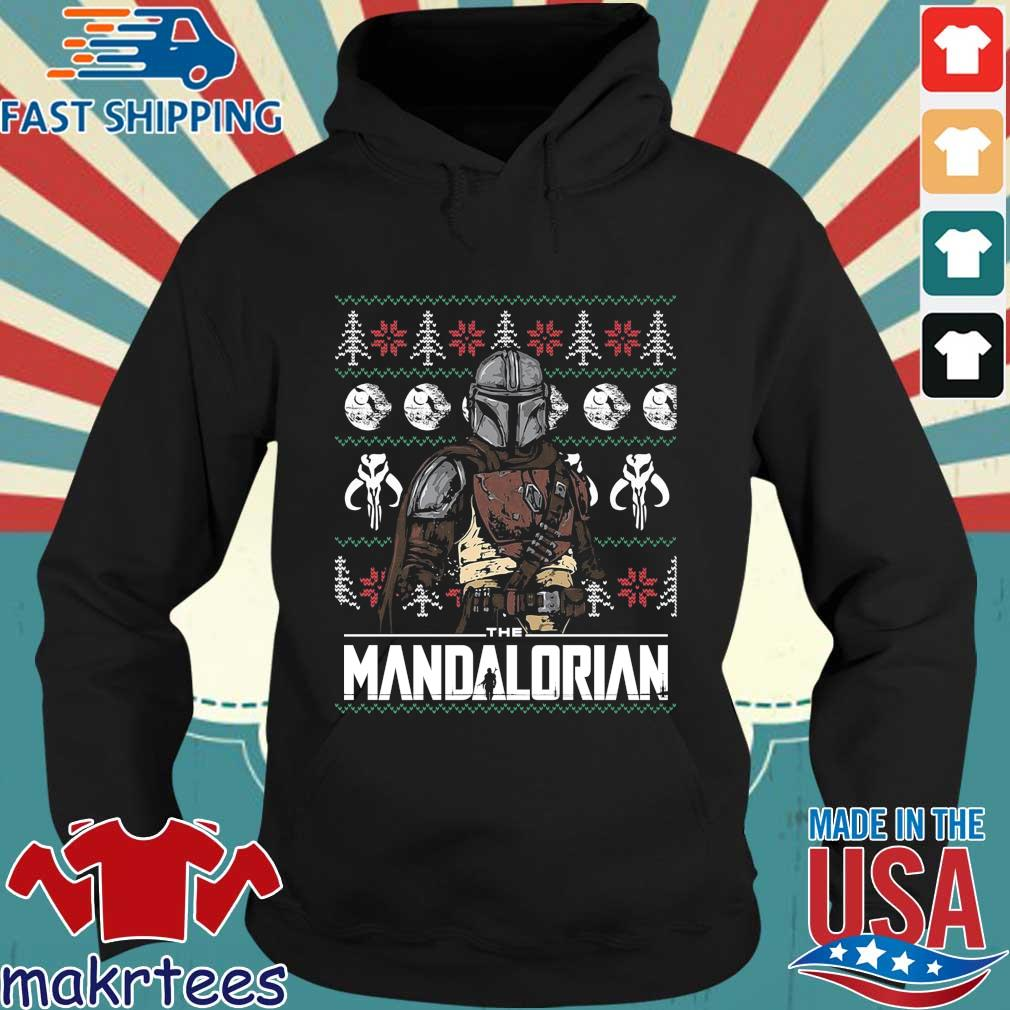 The mandalorian Ugly Christmas sweater Hoodie den