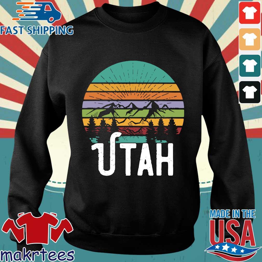 Utah With Mountains At Sunset Vintage shirt