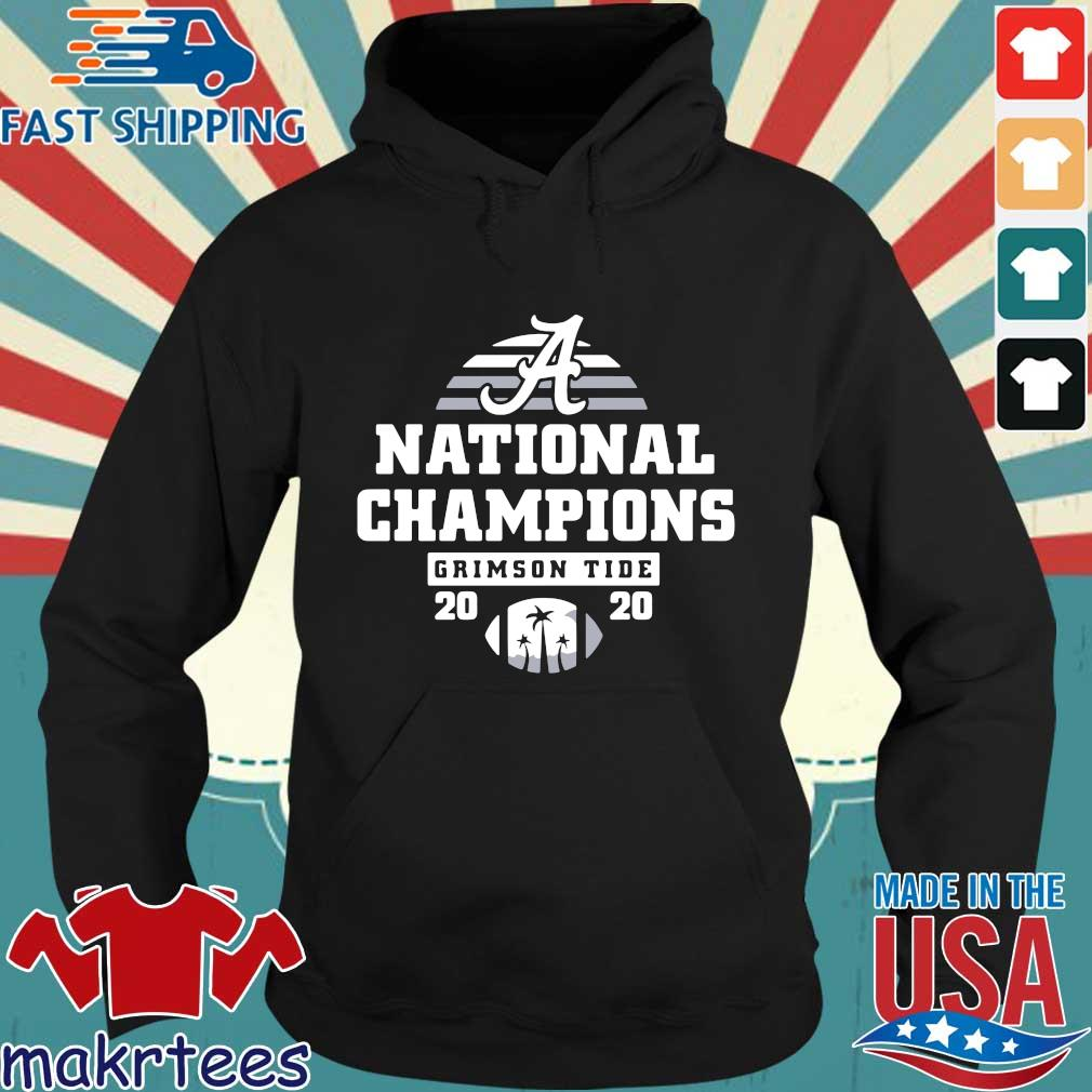 Alabama Crimson Tide national Champions 2020 s Hoodie den