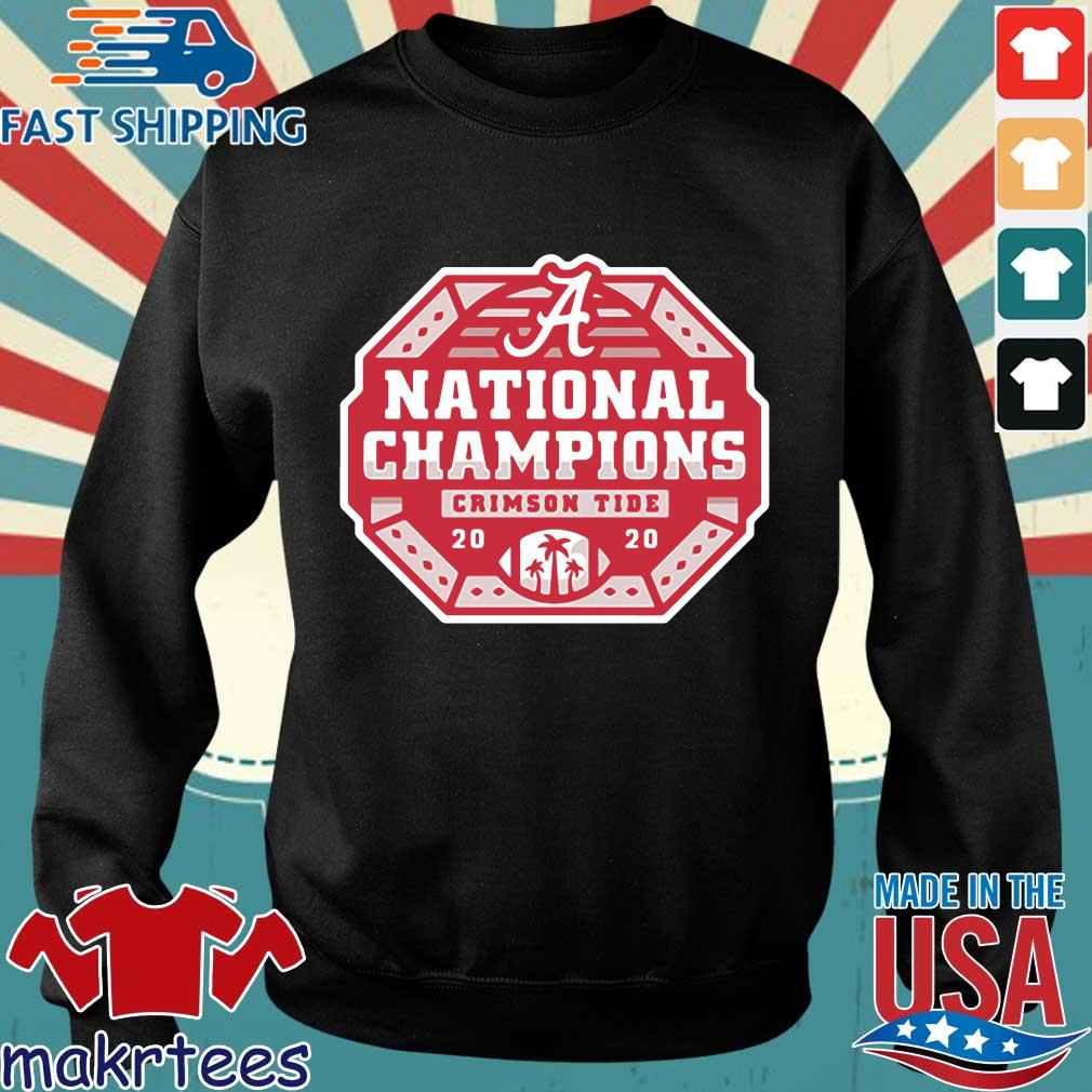 Alabama Crimson Tide national Champions 2020 shirt