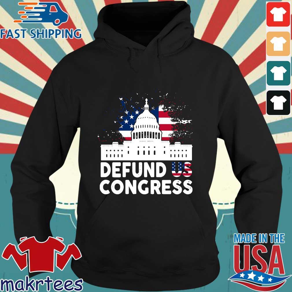 American flag defund US congress s Hoodie den