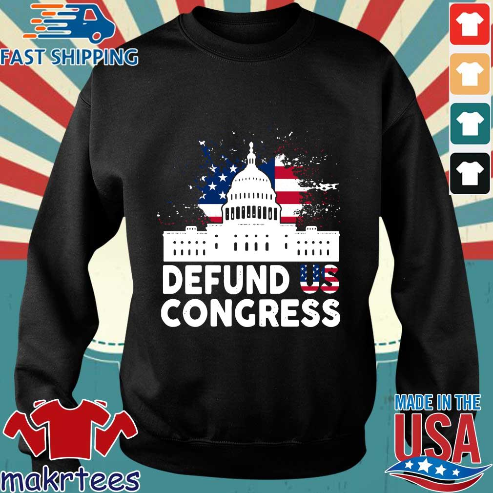American flag defund US congress shirt