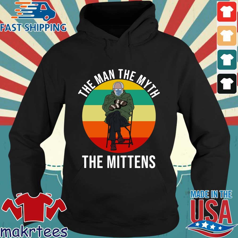 Bernie Sanders the man the myth the mittens vintage sunset s Hoodie den