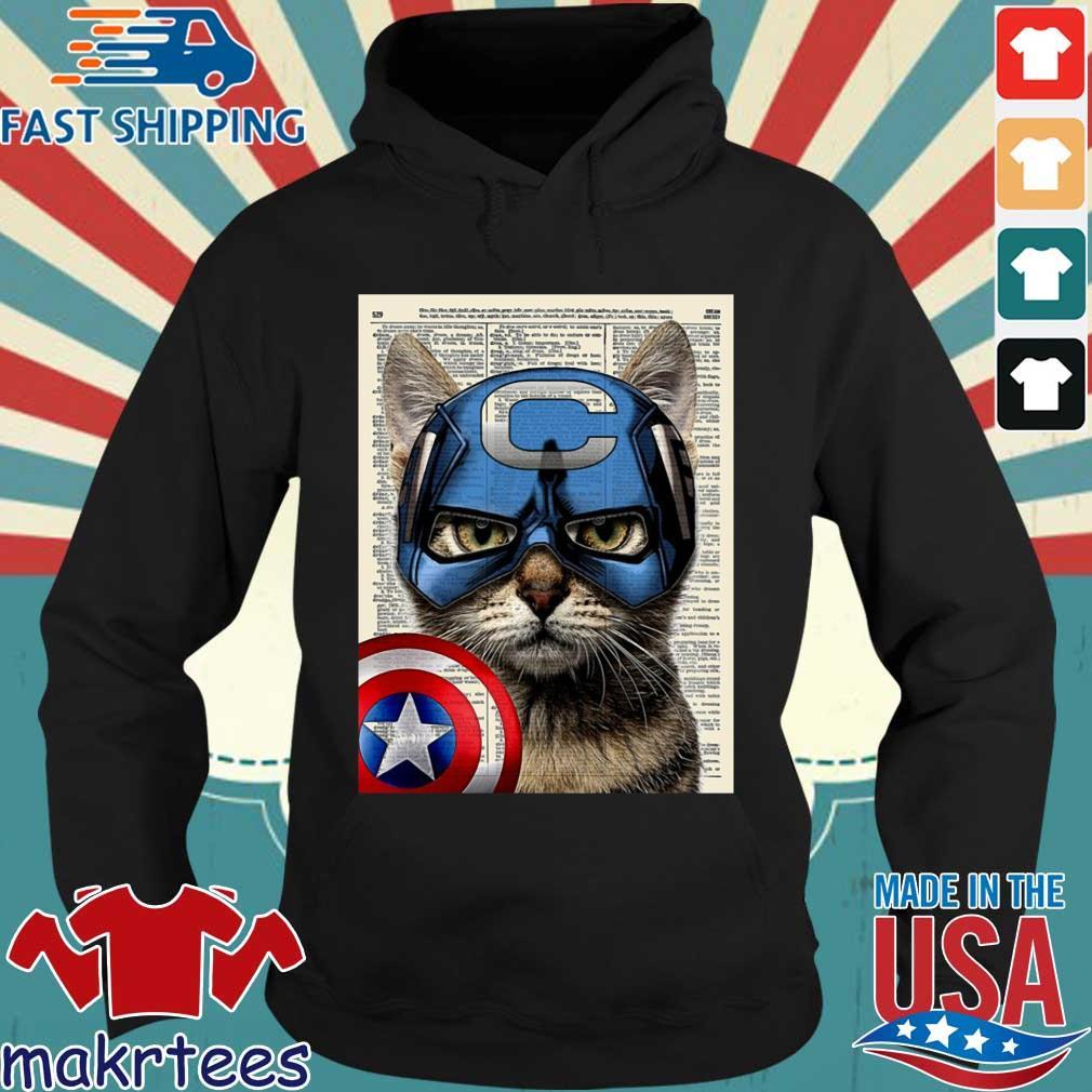 Cat Captain America s Hoodie den