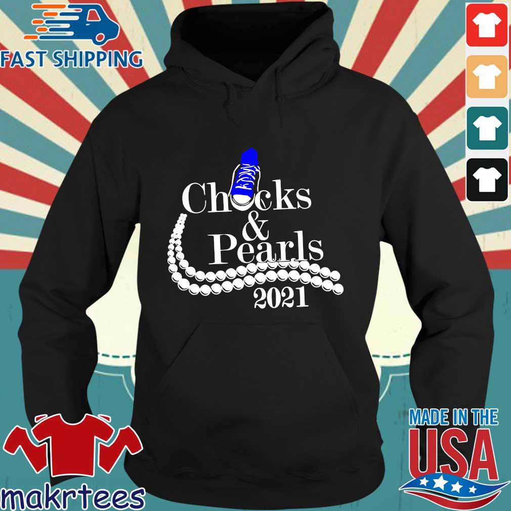 Chucks and pearls 2021 s Hoodie den