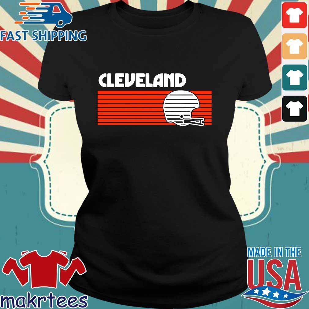 Cleveland Browns Vintage Retro Shirt Ladies den