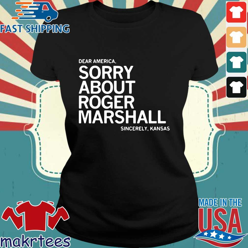 Dear America sorry about roger marshall sincerely Kansas s Ladies den