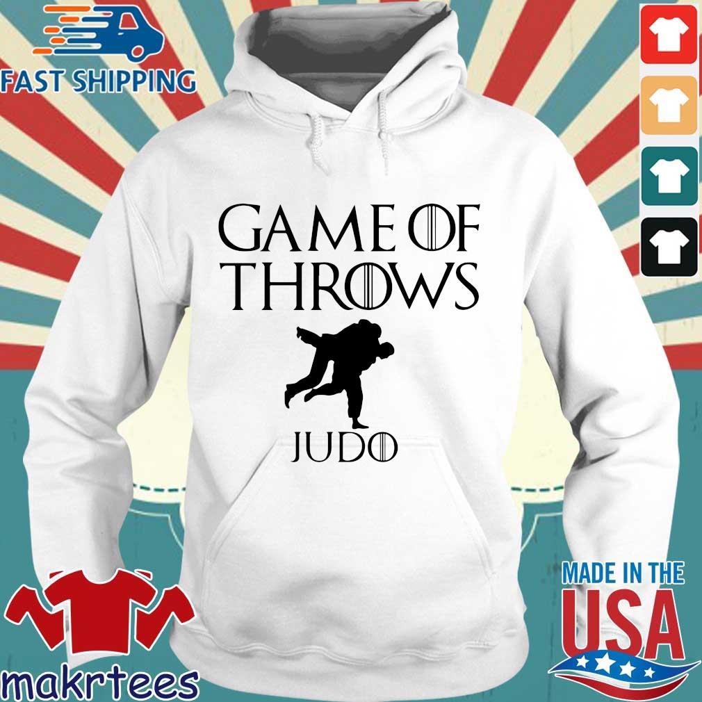 Game of throws judo s Hoodie trang