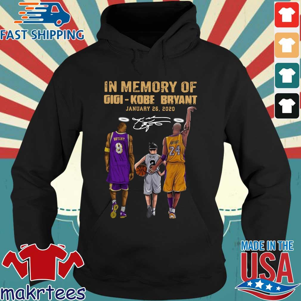 In memory of gigi Kobe Bryant january 26-2020 signature s Hoodie den