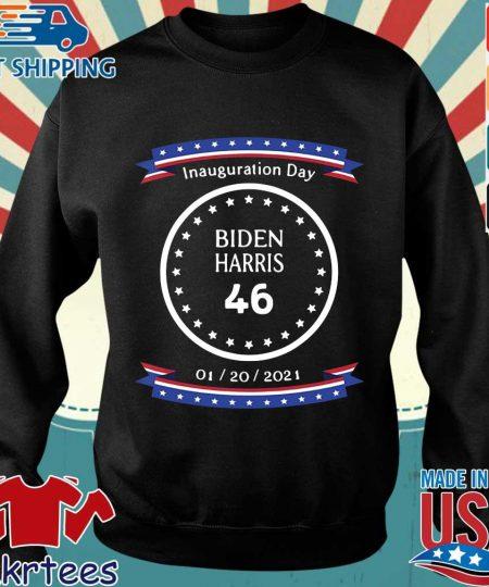 Inauguration day Biden Harris 46 01 20 2021 shirt