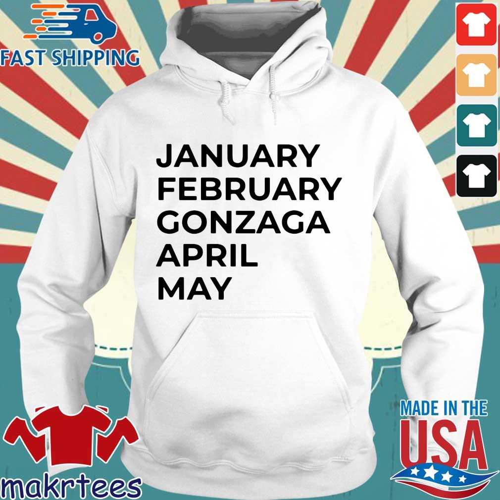 January february gonzaga april may s Hoodie trang