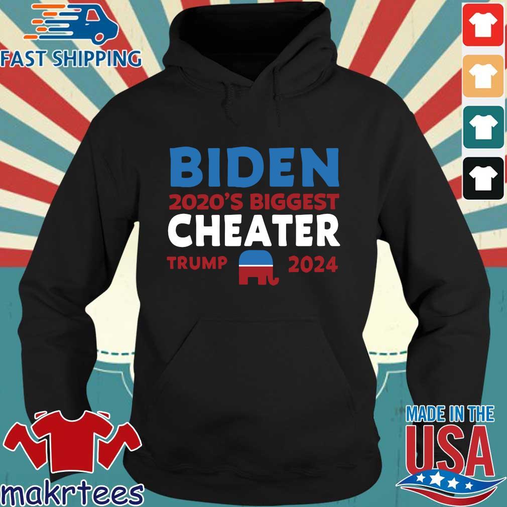 Joe Biden 2020's biggest cheater Donald Trump 2024 s Hoodie den
