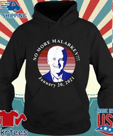 Joe Biden no more malarkey january 20 2021 retro s Hoodie den