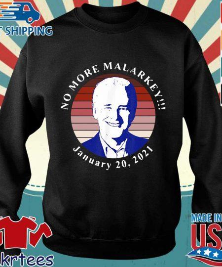Joe Biden no more malarkey january 20 2021 retro shirt