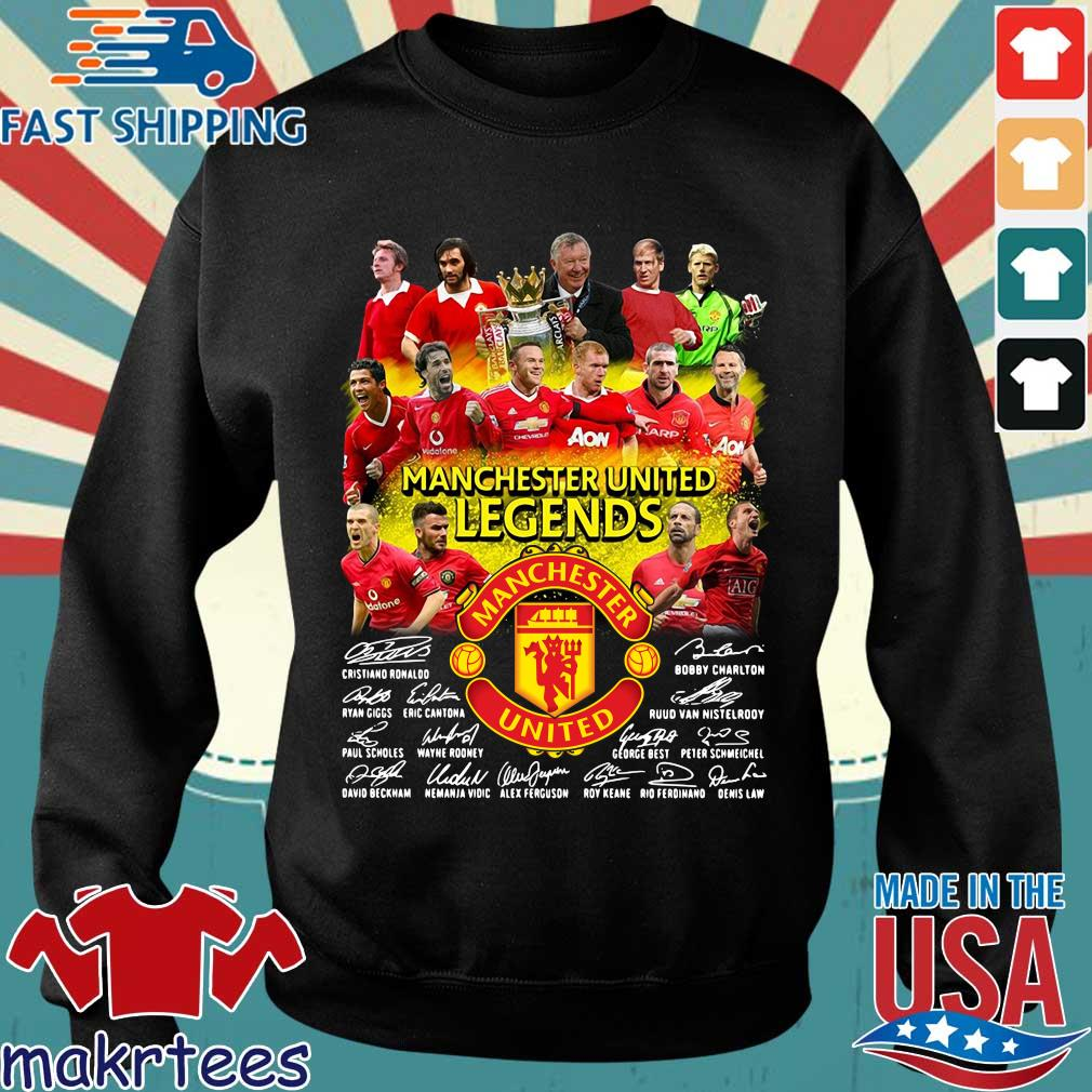 Manchester United Legends players signatures shirt