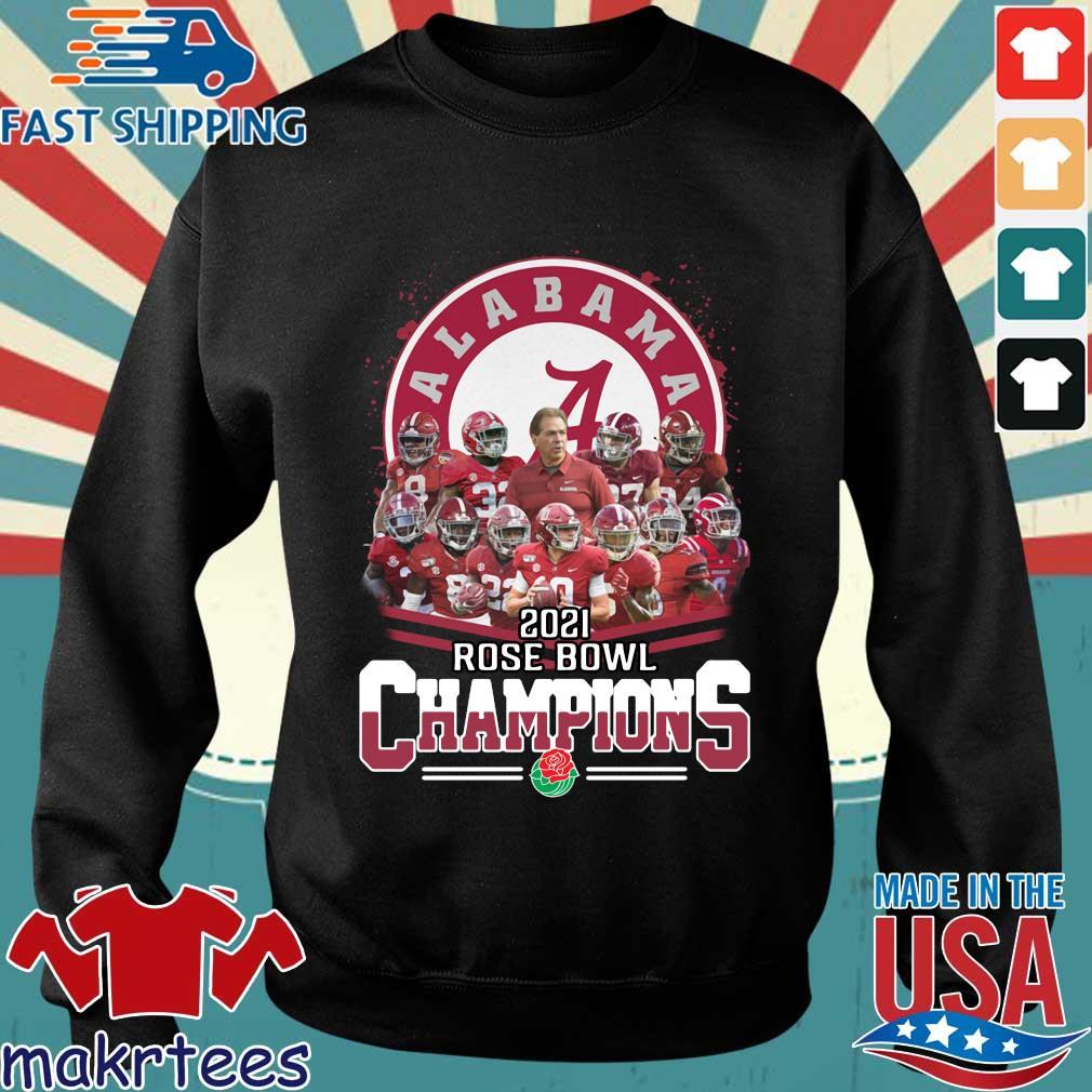 Official Alabama Crimson Tide 2021 Rose Bowl Champions shirt