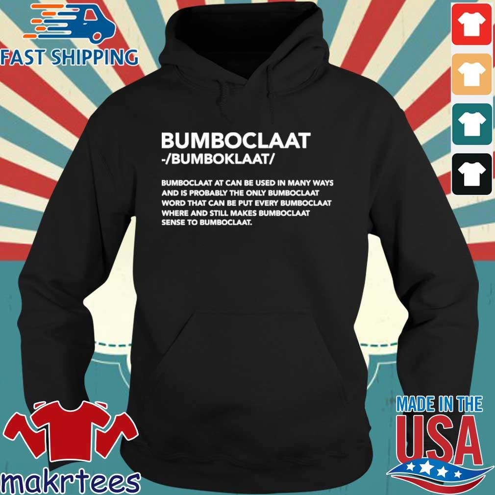 Official Bomboclaat at can be used in many ways s Hoodie den